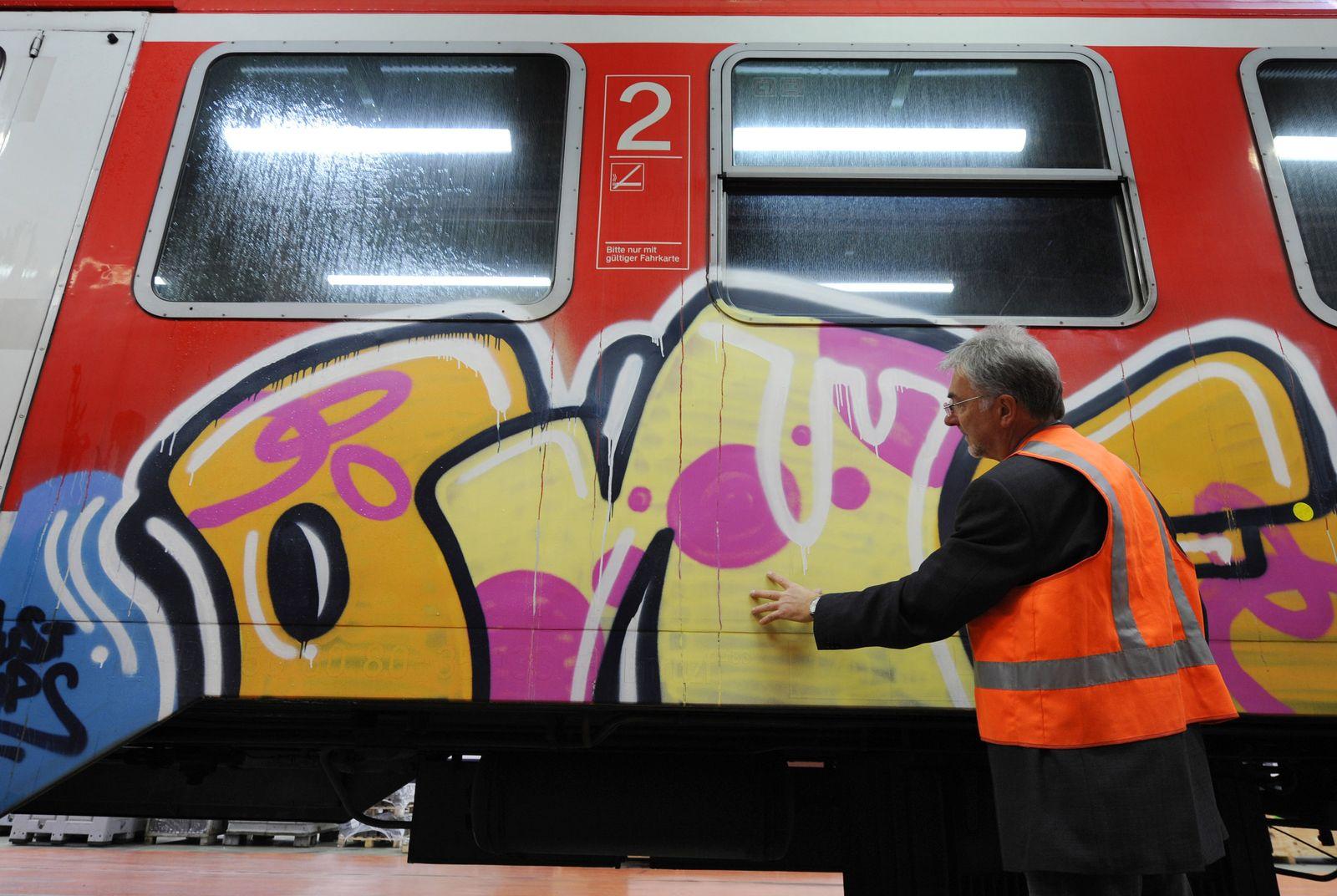 Deutsche Bahn / Graffiti