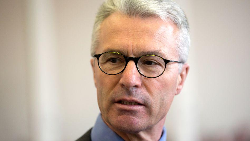 Angeklagt: Ex-Wölbern-Chef Heinrich Maria Schulte steht in Hamburg vor Gericht