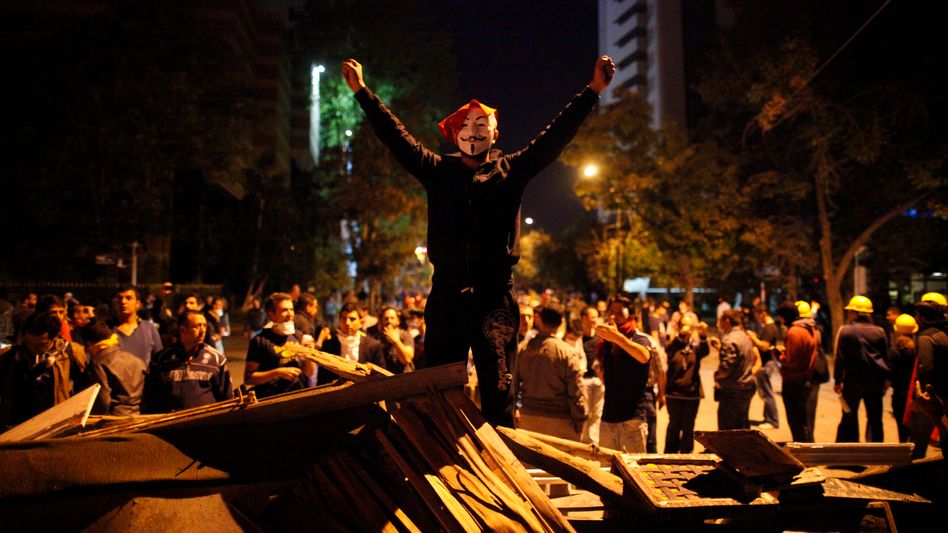 Revoluzzer oder Hobby-Spekulanten? Aufständische auf dem Taksim-Platz in Istanbul