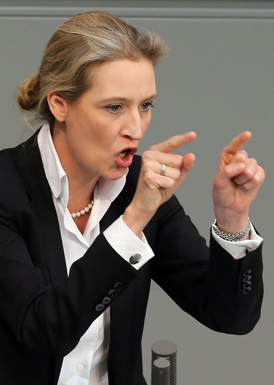 Bundestag Alice Weidel