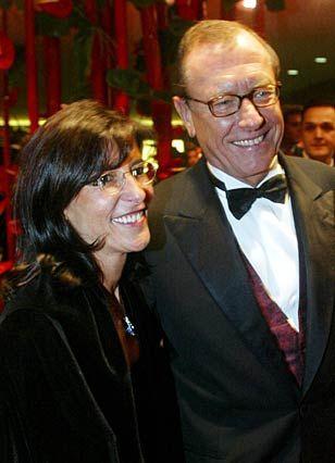 Engagement gegen Aids: Mit Ehefrau Lydia auf einer Benefiz-Gala