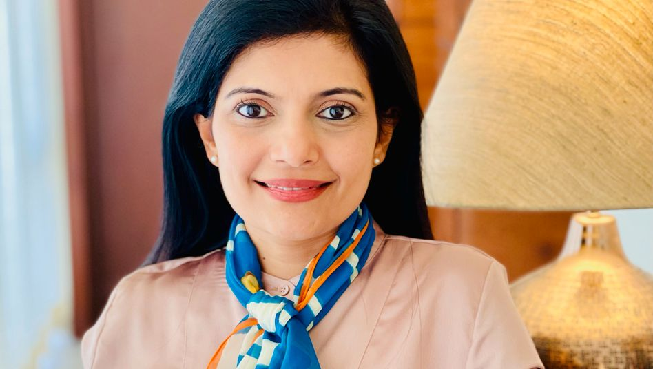 Sindhu Gangadharan leitet nach 18 Jahren in Walldorf nun die SAP Labs Indien