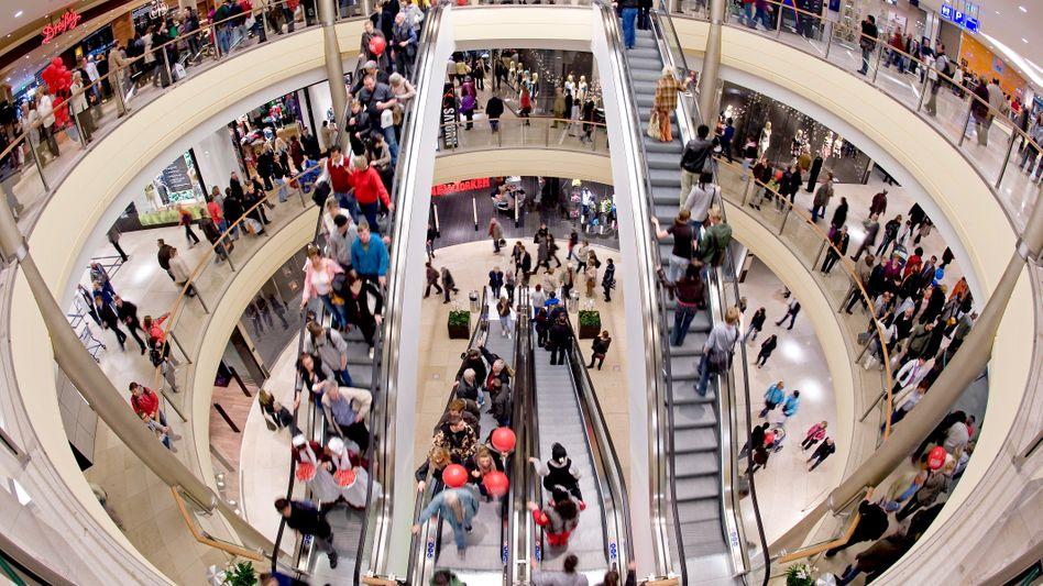 Einkaufsmeile in Dresden: Der Konsum trägt Deutschlands noch immer unterschätzten Aufschwung