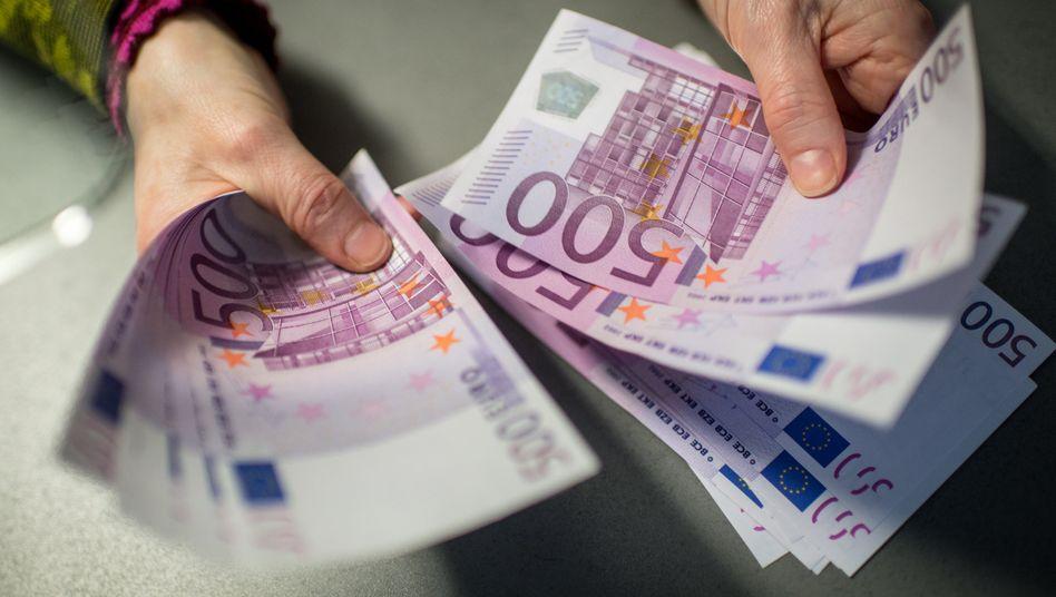 """Der 500-Euro-Schein, alias """"Bin Laden"""": Schon mal in echt gesehen?"""