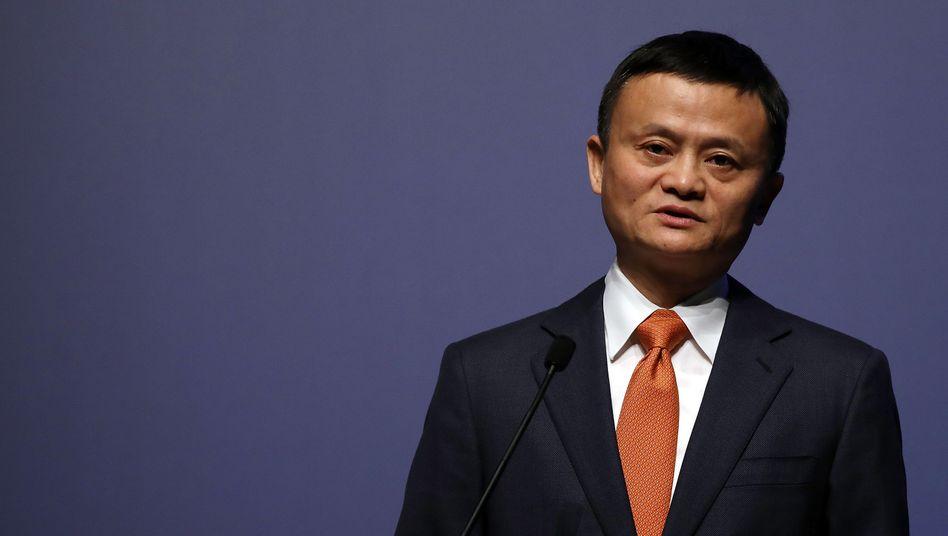 Alibaba-Gründer Jack Ma strebt mit seinem Konzern offenbar auch an die Börse in Hongkong