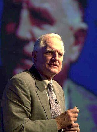 Vorsichtig optimistisch: Craig Barrett, Intel-Vorstand