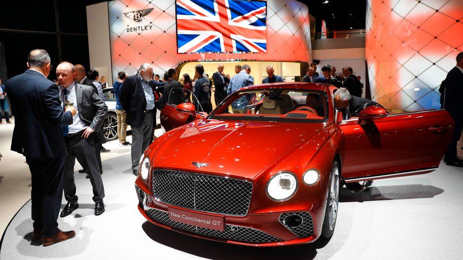 Bentley Continental GT: Adrian Hallmark folgt auf Wolfgang Dürheimer als Bentley-Chef