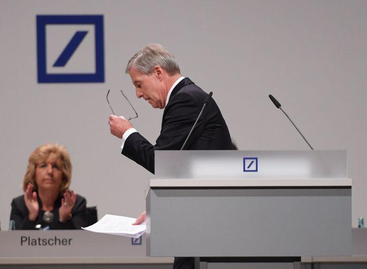 """Der scheidende Co-CEO Jürgen Fitschen: """"Im Tagesgeschäft gut geschlagen"""""""