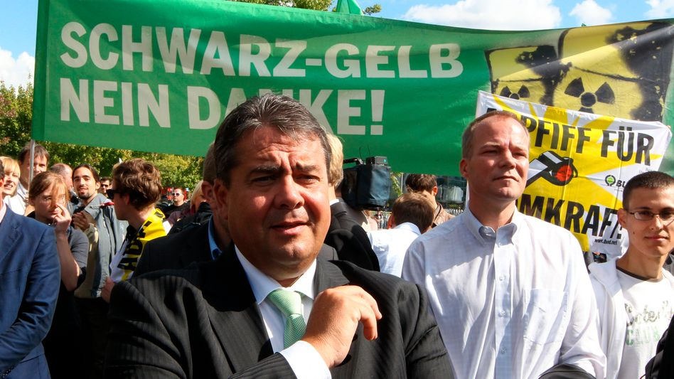 Anti-Atom-Kämpfer Sigmar Gabriel: Der Bundeswirtschaftsminister will das EEG moderat reformieren