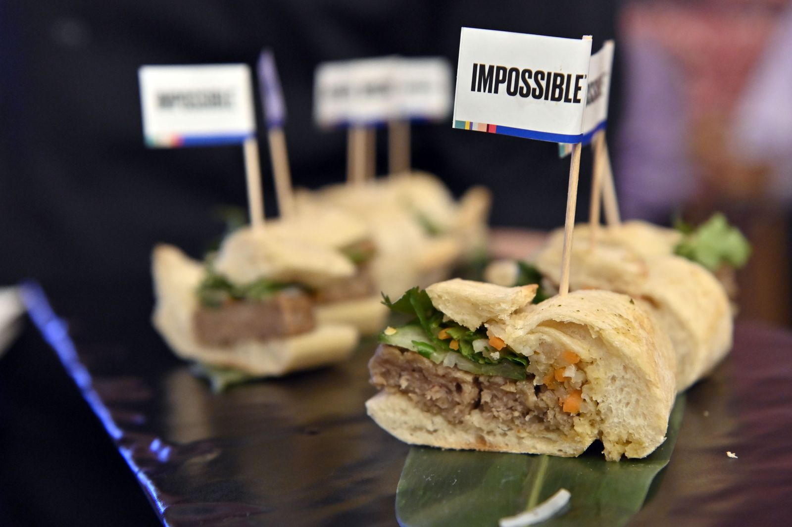 Impossible Pork Banh Mi / Impossible Foods