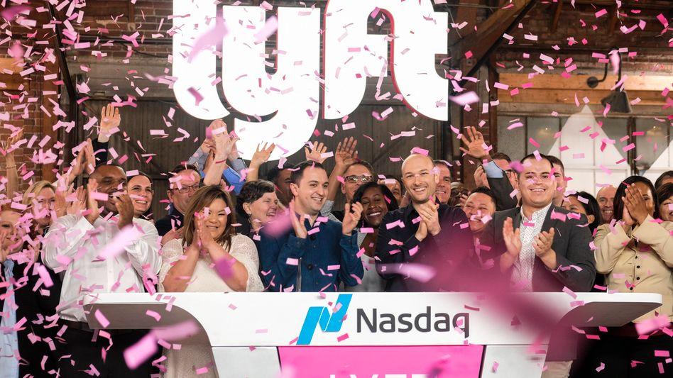 Lyft-Börsengang an der New Yorker Börse