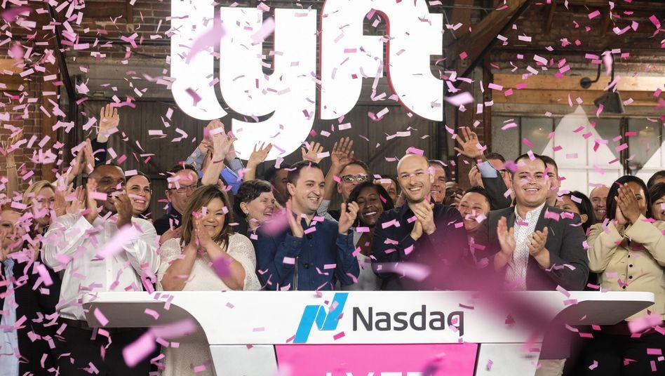 Beste Stimmung beim Lyft-Börsengang am 29. März in New York