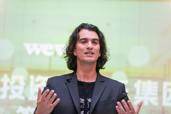 WeWork-Gründer Adam Neumann hätte mit dem Verkauf eines Teils seiner Aktien noch mal rund eine Milliarde Dollar eingestrichen.
