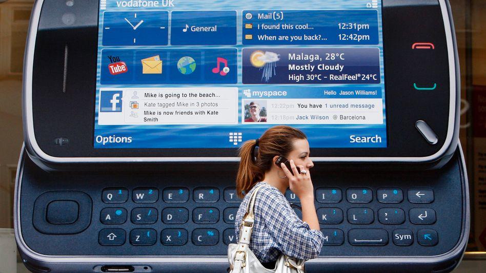 Handys von Nokia: Weltweit nach wie vor nicht sehr gefragt