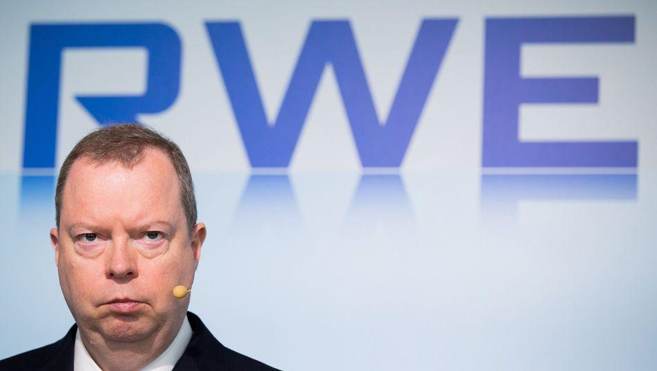 Das ist nicht lustig: RWE-Vorstandschef Peter Terium streicht die Dividende quasi auf Null zusammen