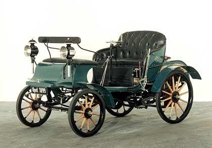 Der erste Opel: Patentmotorwagen von 1899