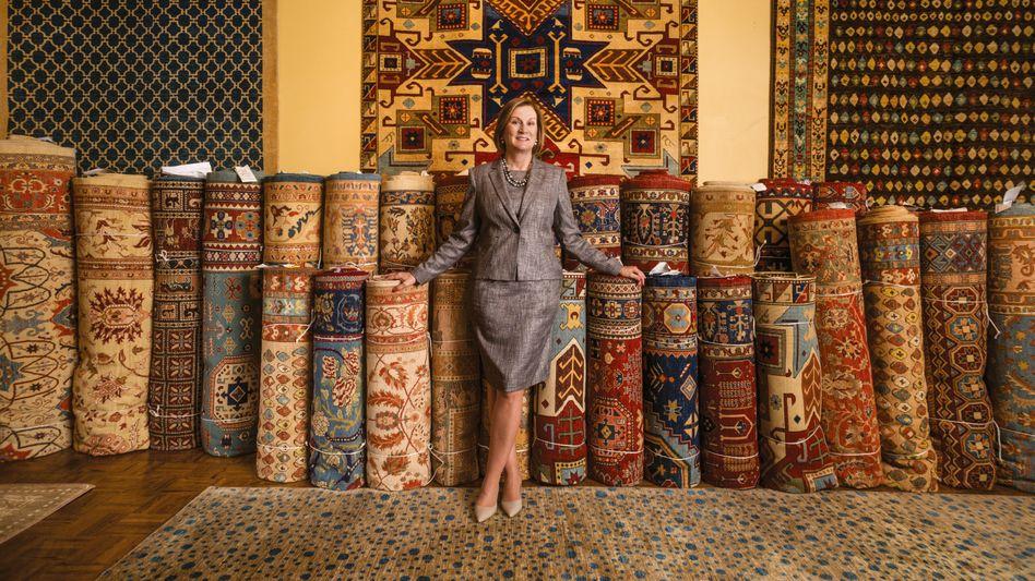Connie Duckworth ist CEO und Chairwoman des sozialen Unternehmens Arzu.