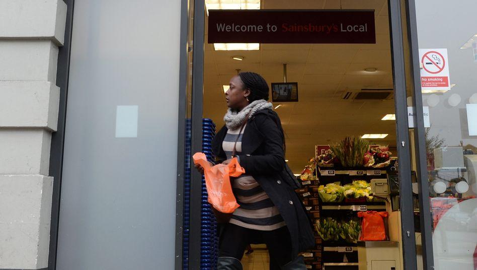 Britische Supermarktkette Sainsbury's: Die Nummer zwei der Branche schließt sich mit der Nummer drei zusammen und übernimmt die Marktführerschaft