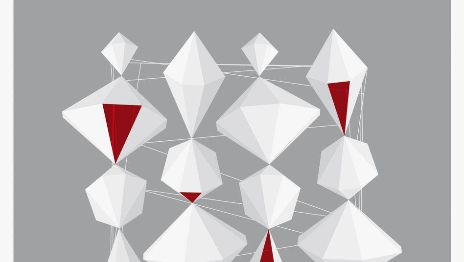 """Die Arbeit """"Graphic Composition No. 2"""" des Künstlers Chad Hagen"""