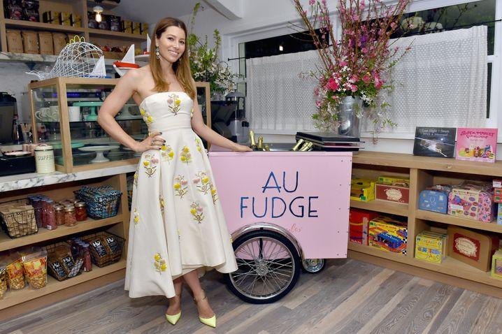 """Sieht aus wie ein Bonbonladen, bietet aber gesundes Essen: """"Au Fudge"""""""