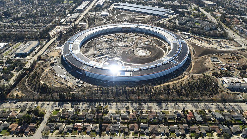 Apple-Campus soll nicht leer stehen: Apple besteht darauf, dass seine Beschäftigten mehr im Büro arbeiten als mobil oder im Homeoffice