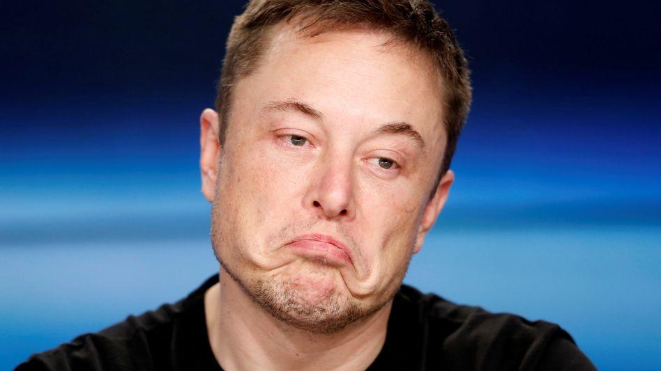 Hin, her, hin: Tesla-Chef Elon Musk.
