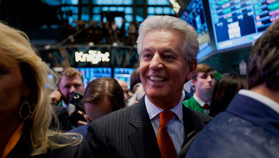 Geschafft: Juan Ramón Alaix freut sich über den Börsengang von Zoetis