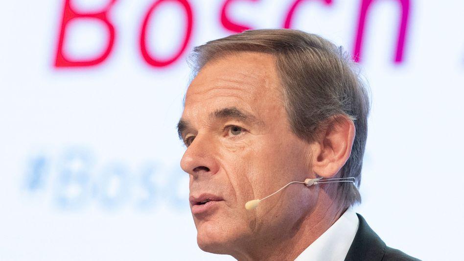Bosch-Chef Volkmar Denner tritt ab ...