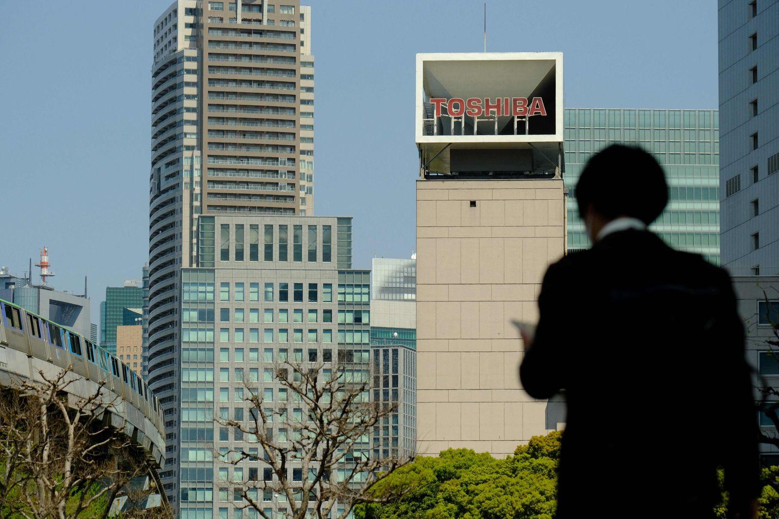 JAPAN-BRITAIN-COMPANY-ECONOMY-TOSHIBA-MERGER
