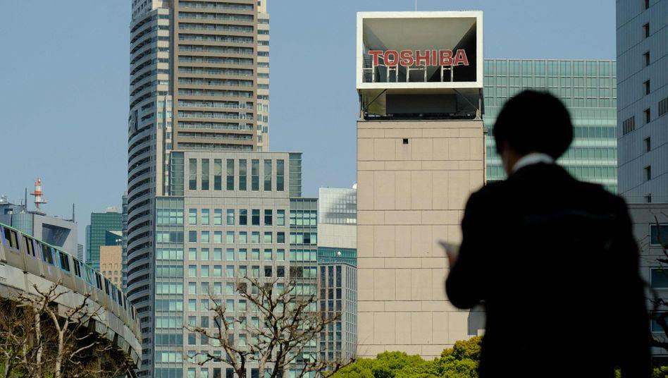 Toshiba-Zentrale in Tokio: Das Private-Equity-Fondshaus CVC bietet 21 Milliarden Dollar für den japanischen Elektronikkonzern. Solche Buy-outs haben schon einige Beteiligungsmanager zu Milliardären gemacht.