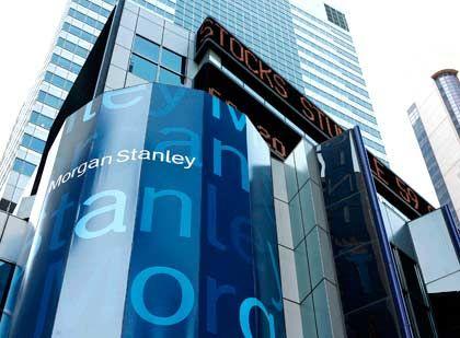 Wieder in der Gewinnzone: Die US-Investmentbank Morgan Stanley