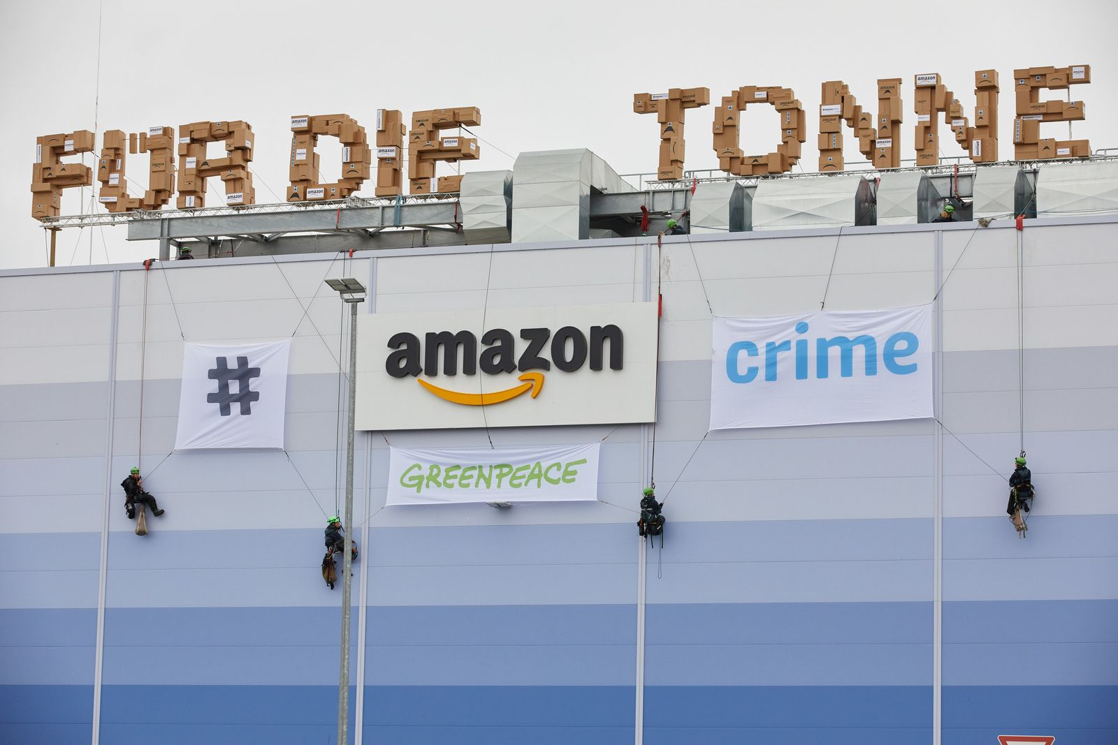 Greenpeace-Aktion zum Prime-Day