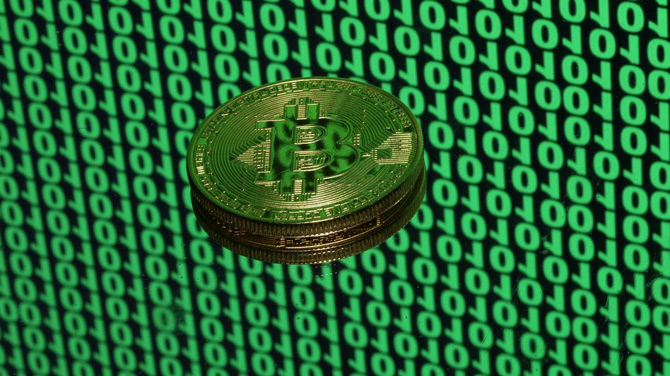Bitcoin-Token, neulich.