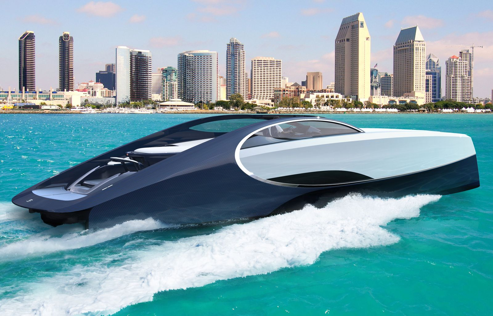 EINMALIGE VERWENDUNG Von der Straße ins Wasser - Die Luxusjachten der Autobauer