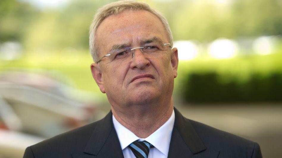 Jahrelang sehr erfolgreich: Martin Winterkorn, Vorstandsvorsitzender der Volkswagen AG