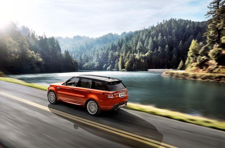 Neuer Range Rover Sport: James-Bond-Darsteller Daniel Craig präsentierte das Fahrzeug im Januar in New York.