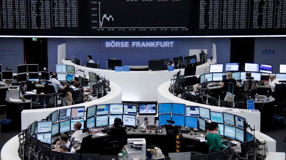 Börse in Frankfurt: Ein Feuergefecht in der Ukraine versetzt die Märkte in Aufruhr