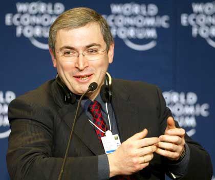Gezielte Attacke: Chodorkowski nutzte das Weltwirtschaftsforum für Kritik an der russischen Regierung