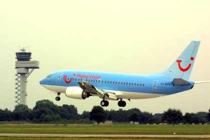 Hapag-Lloyd-Flugzeug in Hannover: Zu viele Billigflieger