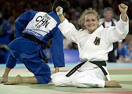 Judoka Anna-Maria Gradante