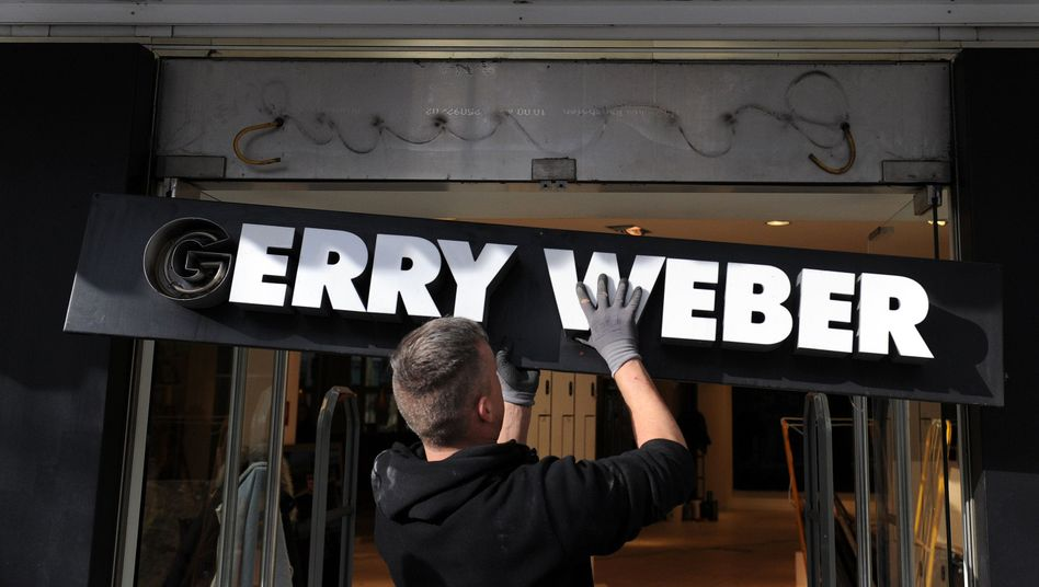 Gerry Webermacht 120 Filialen in Deutschland dicht