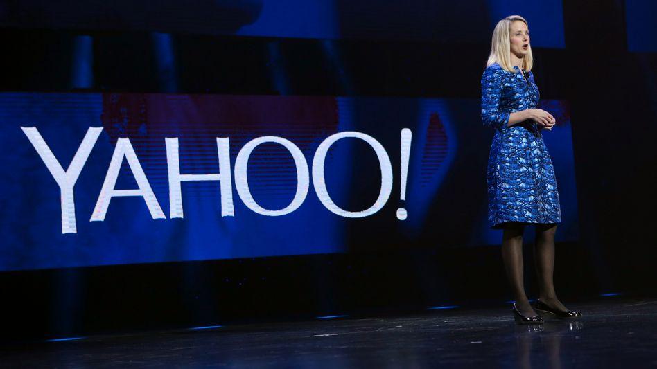 Stellt Yahoo zum Verkauf und erwartet wohl noch weitere Gebote: Yahoo-Chefin Marissa Mayer