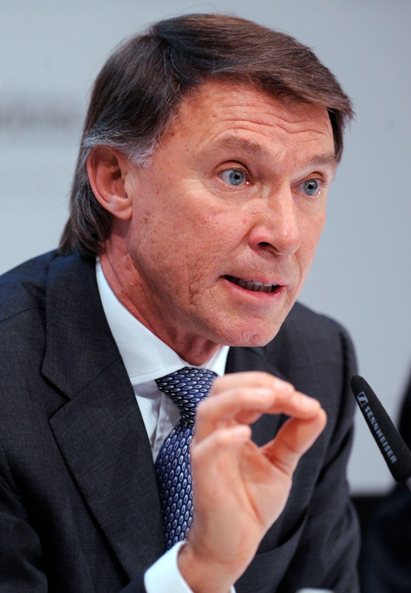NICHT VERWENDEN Bilanzpressekonferenz Adidas AG / Robin Stalker