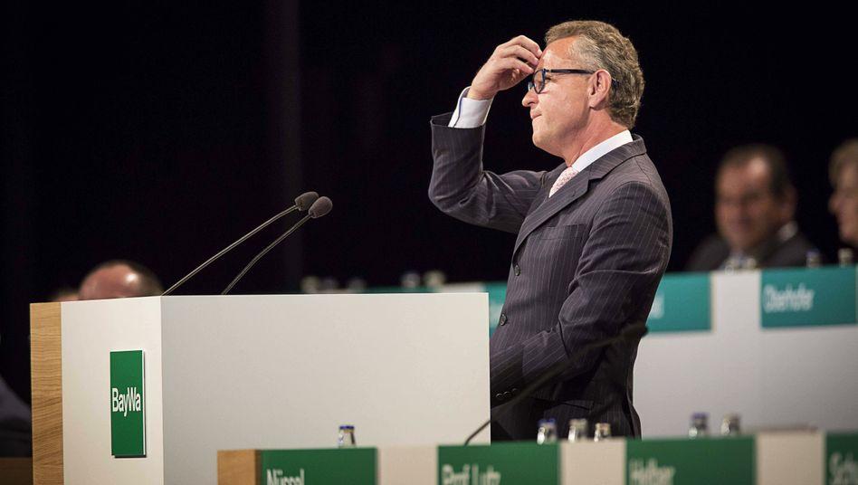 Kopfzerbrechen: Klaus Josef Lutz führt den Agrarhändler seit fast zwölf Jahren.