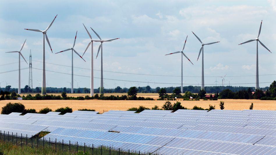Windkraft und Solarpanels: Anleger haben ein neues Lieblingsthema