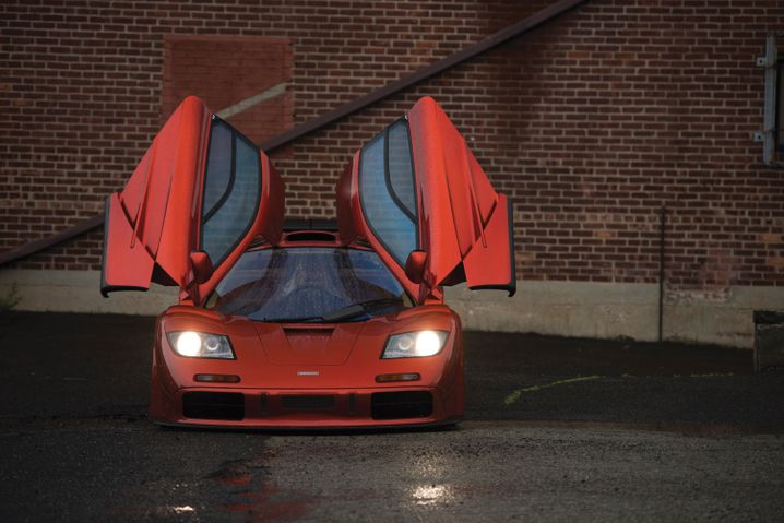 "McLaren F1 ""LM-Specification""von 1998: Einst lag der Neupreis bei 1,5 Millionen Mark, in Pebble Beach erlöste ein solches Auto13,9 Millionen Dollar"
