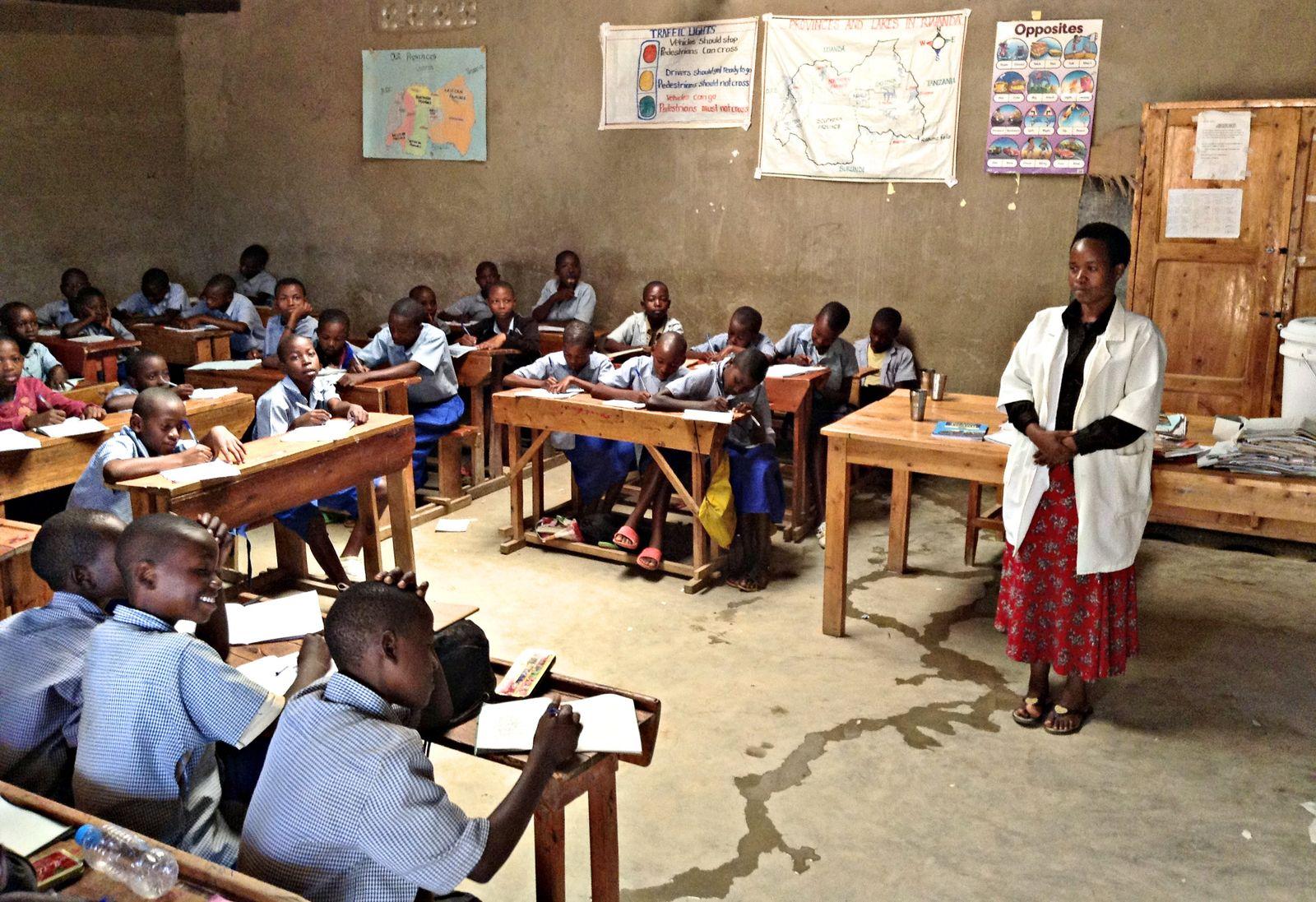 Projektdorf Mayange in Ruanda