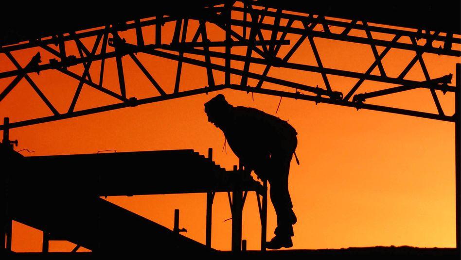 Viele Aufträge: Die Baubranche profitierte von Nachholeffekten, weil am Jahresende viele Arbeiten witterungsbedingt liegen geblieben waren