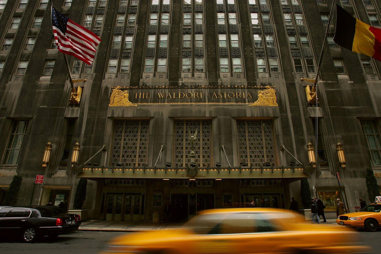 Waldorf Astoria/ Hilton Hotel/ New York