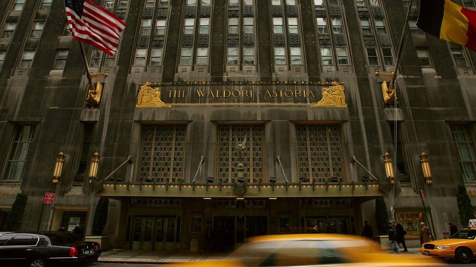 Hilton-Hotel Waldorf Astoria in New York: 650.000 Zimmer in 90 Ländern